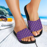 Lucky Purple Elephant Slide Sandals