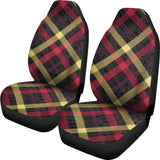 Exclusive Tartan Car Seat Cover