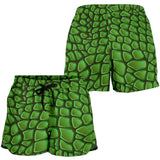 In Love With Crocodile Women's Shorts