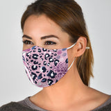 Classic Leopard Art Pink Style Protection Face Mask