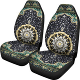 Luxury Ornamental Persian Style 3 Pair Of Car Seat Covers