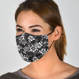 Lovely Floral Passion Protection Face Mask