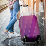 Glamour Purple Luggage Cover