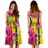 Luxury Rose Women's Dress