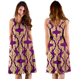 Purple Baroque Women's Dress