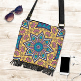 Lovely Boho Mandala Vol. 3 Crossbody Boho Handbag