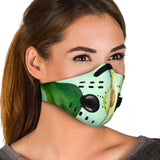 Amazing Luxury Avocado Art Premium Protection Face Mask