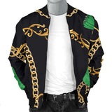 Luxury Chain Men's Bomber Jacket
