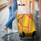 Golden Rainbow Luggage Cover
