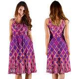 Ornamental Pink Passion Women's Dress