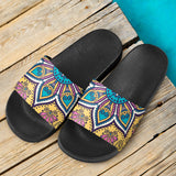Lovely Boho Mandala Vol. 3 Slide Sandals