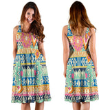 Ornamental Hippie Love Women's Dress