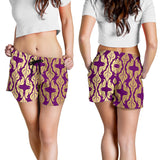Purple Baroque Women's Shorts