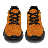 Orange Stars Chunky Sneakers