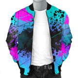 Music is my only drug. Street Art Design Men's Bomber Jacket