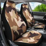 Simply Brown Camouflage Car Seat Cover