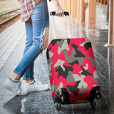 Woman Army Style Luggage Cover