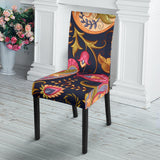 Royal Blue Paisley Dining Chair Slip Cover