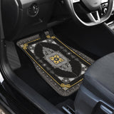 Luxury Oriental Mandala Carpet 16 Front Car Mats