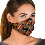Beautiful Vibes Mandala Three Premium Protection Face Mask