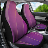 Glamour Purple Car Seat Cover