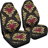 Luxury Royal Hearts Car Seat Cover