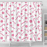 Christmas Candy Shower Curtain