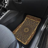 Luxury Oriental Mandala Carpet 13 Front Car Mats