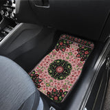 Luxury Oriental Mandala Carpet 11 Front Car Mats