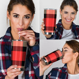 Perfect Red Tartan Magical Dream Tumbler