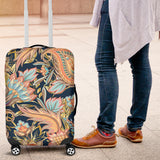 Romantic Paisley Luggage Cover