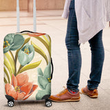 Lovely Flowers Luggage Cover
