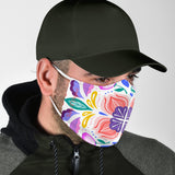 Traditional Colorful Ornamental Design One Protection Face Mask