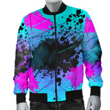 My brain is 80% lyrics. Street Art Design Men's Bomber Jacket