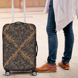 Royal Black Luggage Cover