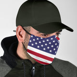 Lovely American Flag Protection Face Mask