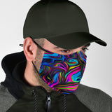Colorful Art Design Protection Face Mask