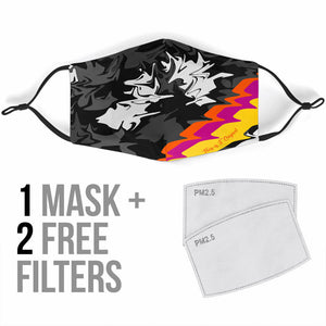 Motocross Addiction Design Three Protection Face Mask
