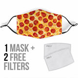 Pizza Design Protection Face Mask