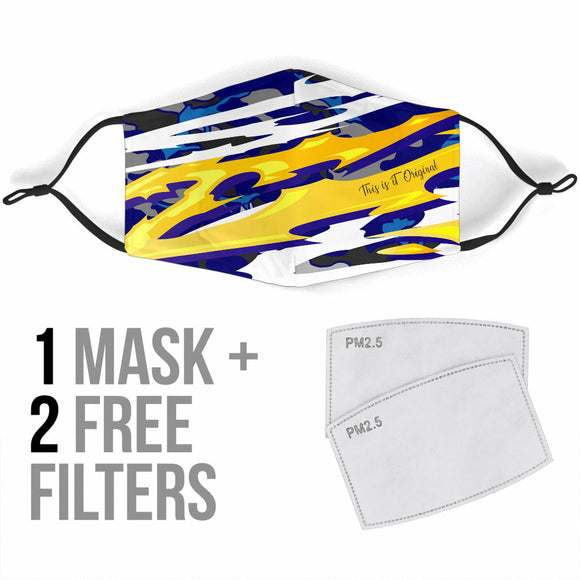 Racing Style Addiction Design One Protection Face Mask