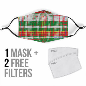 Classic Tartan Luxurious Design One Protection Face Mask