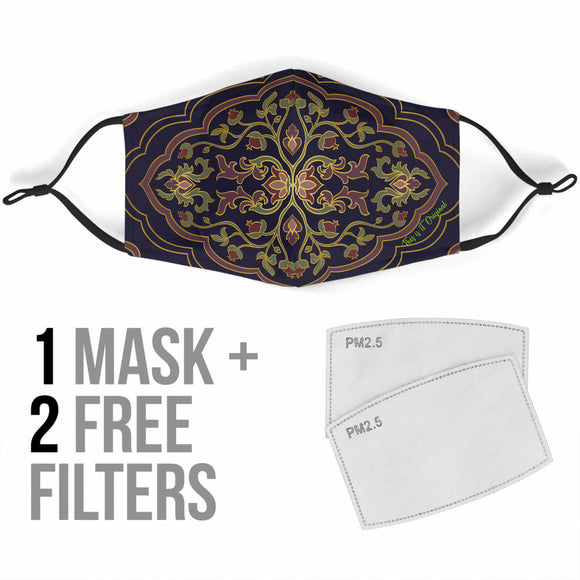 Retro Ornamental Special Design Protection Face Mask