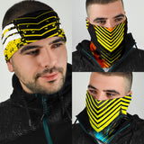 Racing Stripes Style Yellow Collection Bandana 3-Pack