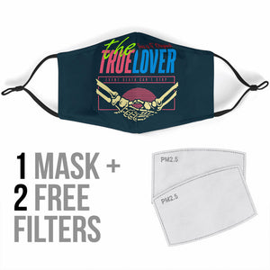 The True Lover Skull Story Protection Face Mask
