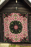 Luxury Persian Carpet Style in Pink Premium Quilt