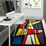 Rubik's  Cube And Colors Everywhere Area Rug