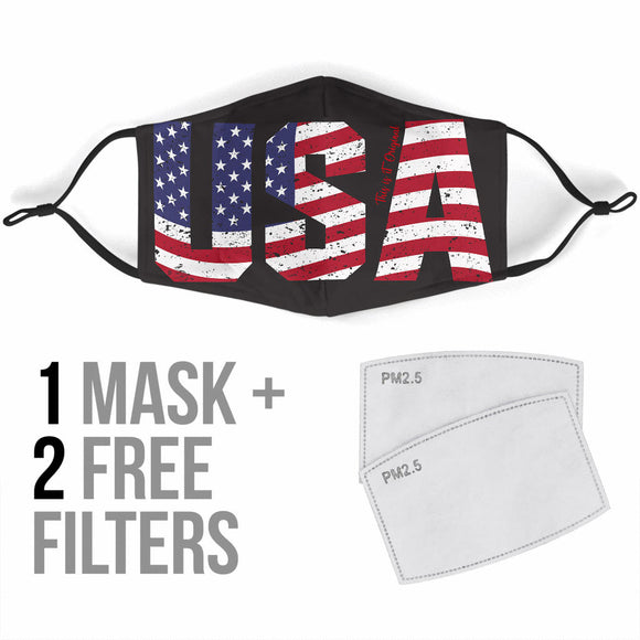 USA Protection Face Mask