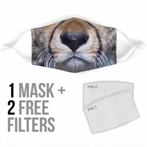 Lovely Cheetah Protection Face Mask