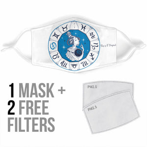 Special Zodiac Sign Design Cancer Protection Face Mask