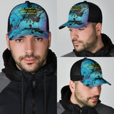 Stop Expecting You from Other People Street Wear Mesh Back Cap